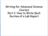 Complete Lab Report Writing Guide for Advanced Level Science Classes