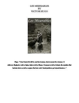 Complete Les Miserables curriculum