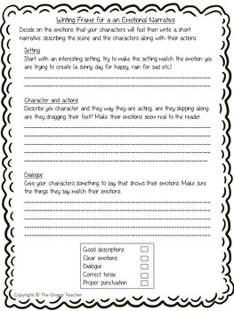 Complete Lesson Writing Emotion in Narrative   – Billionaire Boy