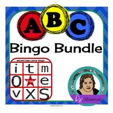 Complete Letter Bingo Bundle - Buy 2 and Get 1 Free!