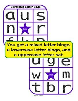 Complete Letter Bingo Bundle - Buy 2 and Get 1 Free!