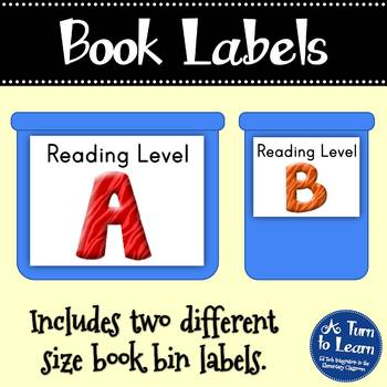 Complete Library Organization - Labels for Your Bins and Your Books!