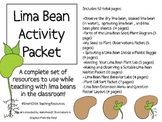 Complete Lima Bean Plant Packet!  A HUGE Set of Hands-On Activities!