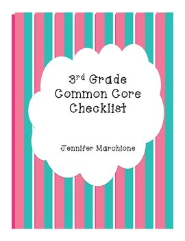 Complete List of 3rd Grade Common Core Standards