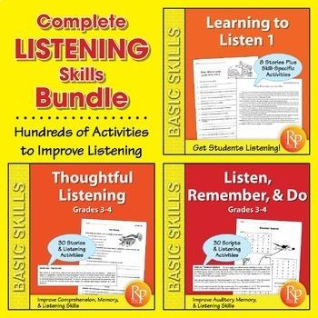 Complete Listening Skills {Bundle}