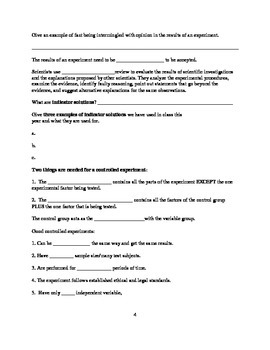 Complete Living Environment Regents Review Packet with Answers