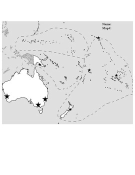 Complete Mapping Packet Geography Oceania