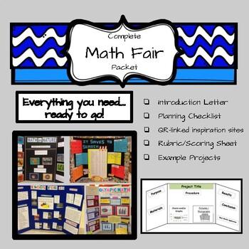 Complete Math Fair Packet