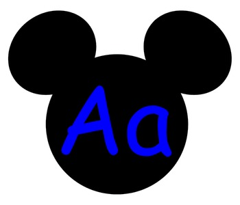 Complete Mickey themed Word Wall Bundle **** Blue