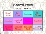 Complete Middle Ages PowerPoint Unit