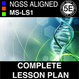 Complete Middle School MS-LS1 NGSS From Molecules to Organisms Bundle