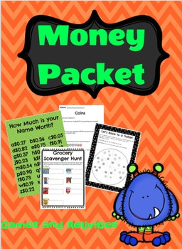 Complete Money Activity Packet