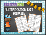Complete Multiplication Facts!