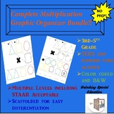 Complete Multiplication Graphic Organizer Bundle