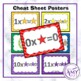 Multiplication/Times Table Posters, Flash Cards and More!