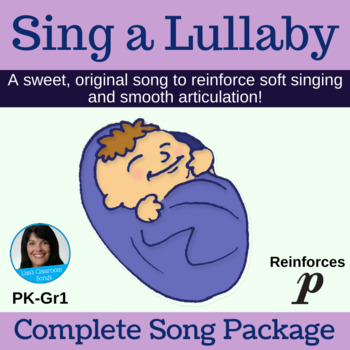 """Sing a Lullaby"" Action Song by Lisa Gillam 