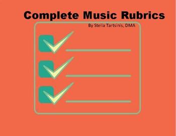 Complete Music Rubrics