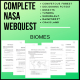 Complete NASA Webquest on Biomes