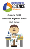 Complete NGSS Curriculum Alignment Bundle: High School