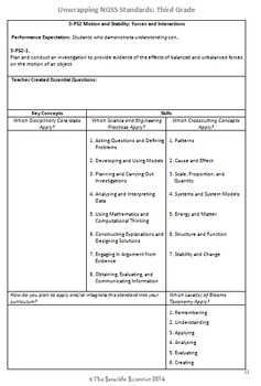 Complete NGSS Curriculum Alignment Bundle: Kindergarten- 2nd Grade