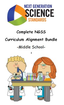Complete NGSS Curriculum Alignment Bundle: Middle School