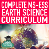 Complete NGSS Middle School Earth Science Bundle Print and