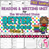 NO PREP Reading & Writing Units {ONE FREE UNIT- The Wretched Stone}