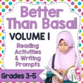 NO PREP Reading & Writing Units for 40 Mentor Texts (Vol 1 Better Than Basal)