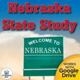 Complete Nebraska State Study Interactive Notebook Bundle