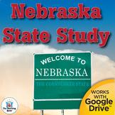 Complete Nebraska State Study Interactive Notebook Bundle