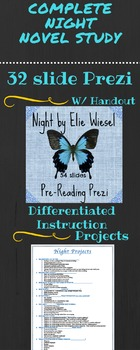 Complete Night by Elie Wiesel Novel Study