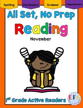 Complete No Prep English Language Arts November