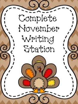 Complete November Writing Station