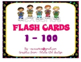 Complete Number Cards 1 to 100