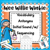 Wee Willie Winkie Nursery Rhyme Activities and Lesson Plan