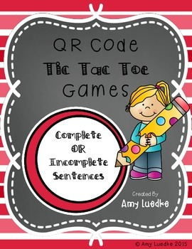 QR Codes for Complete OR Incomplete Sentences