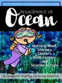 Complete Ocean Unit - Science Lessons, Literacy Centers, M