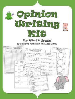 Complete Opinion Writing Kit