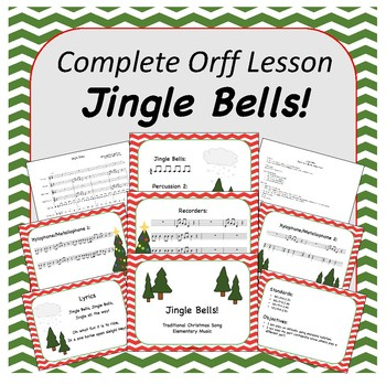 Complete Orff Music Lesson - Jingle Bells