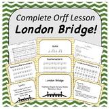 Complete Orff Music Lesson - London Bridge