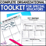 Complete Organizational Toolkit for Special Educators {editable}