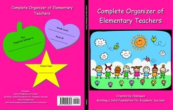 Complete Organizer of Elementary Teachers