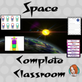 Complete Outer Space Themed Classroom Bundle