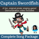 Original PIRATE Song and Game   Action Song   mp3s, PDF, S