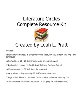 Complete Package - Elementary School Literature Circles Kit