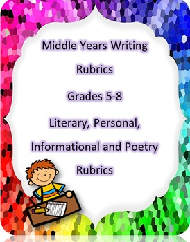 Writing Rubrics Complete Package