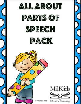 Complete Parts of Speech Toolkit!