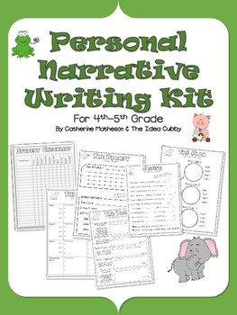 Complete Personal Narrative Writing Kit