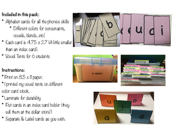 Complete Phonics Card Pack