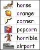 Complete Phonics Word Wall: Short Vowels, Long Vowels, Blends